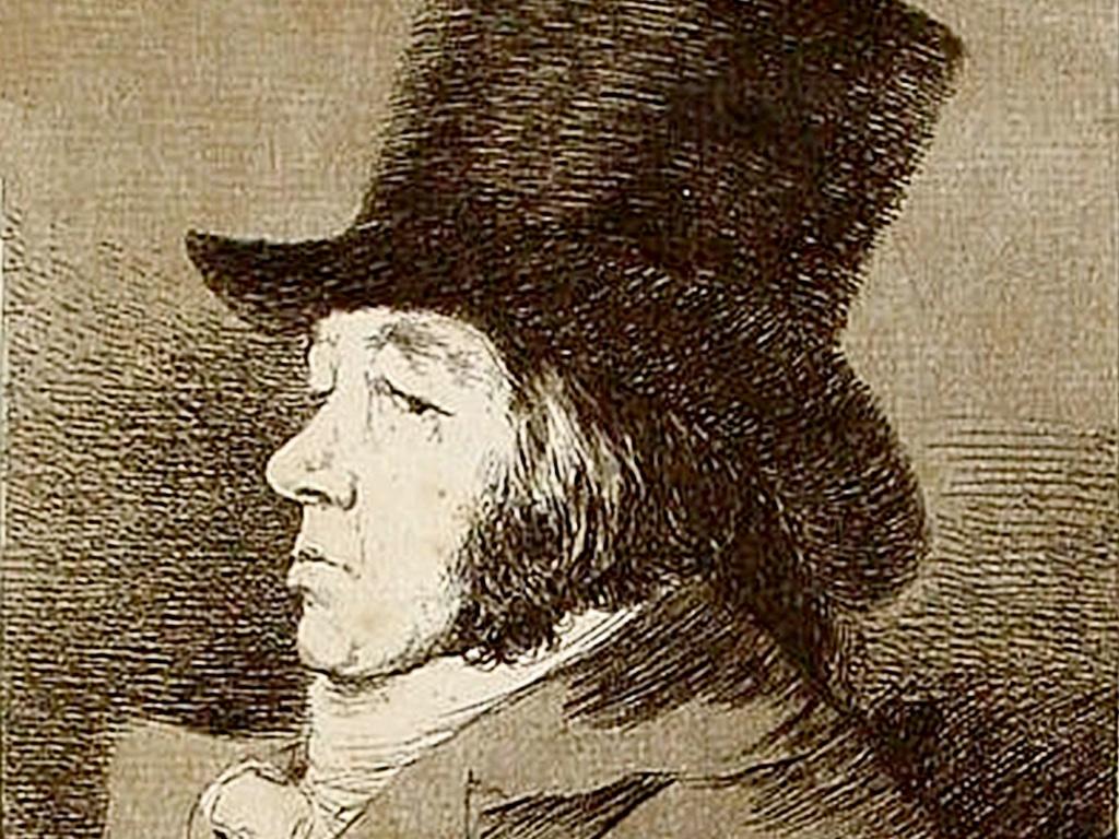 . Francisco Goya .