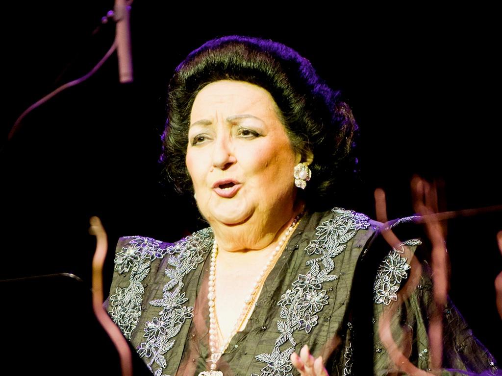 . Montserrat Caballé .