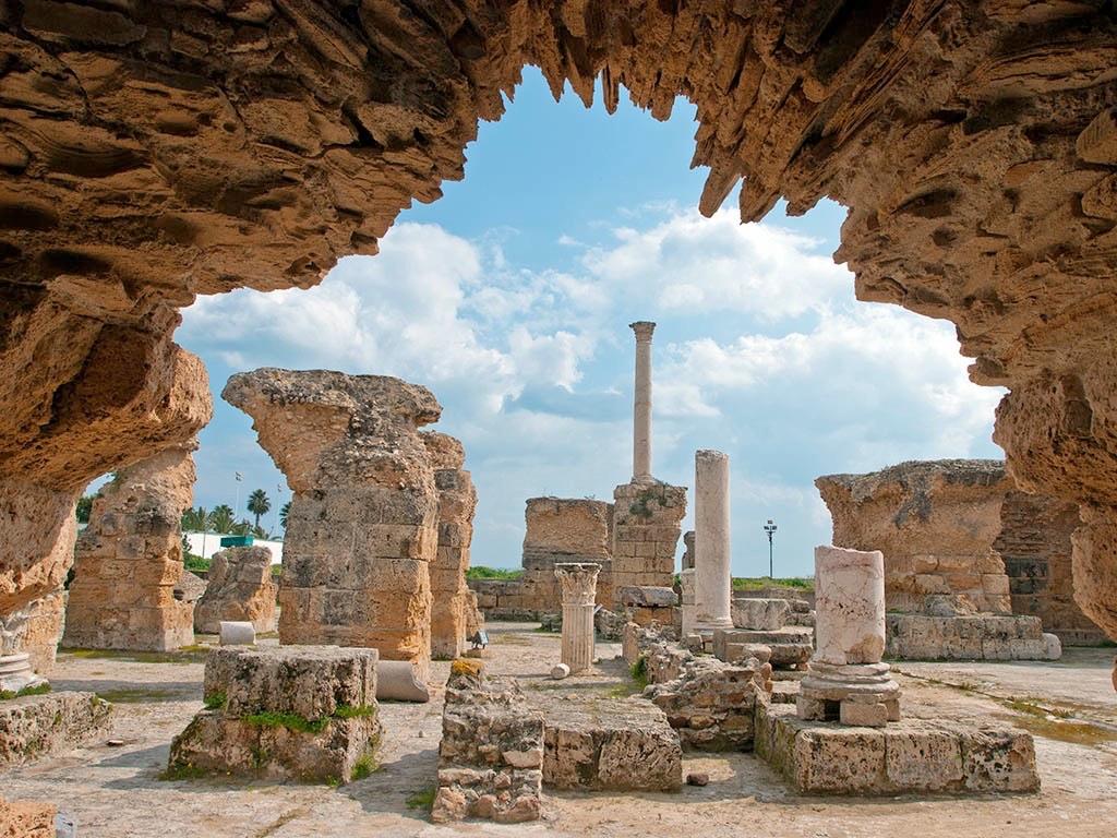 . Carthage (El-Jem) .