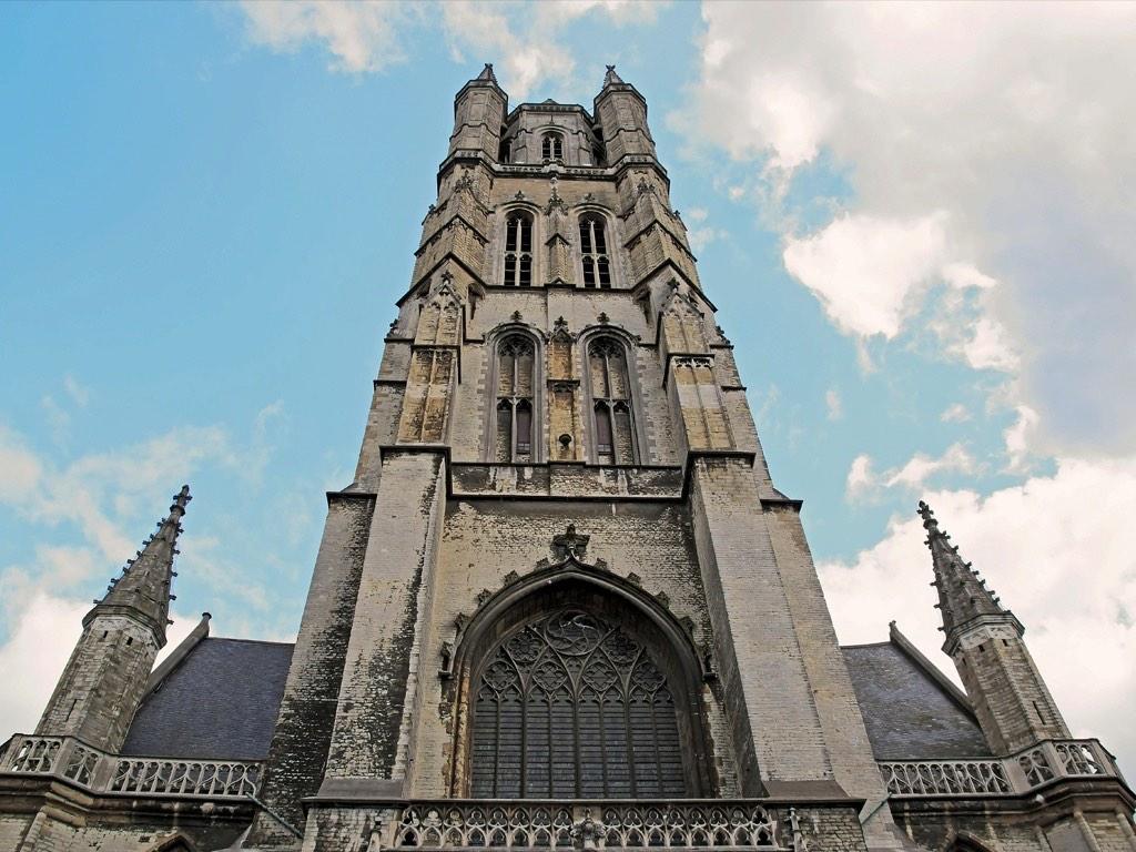 . Cathédrale de Gand .