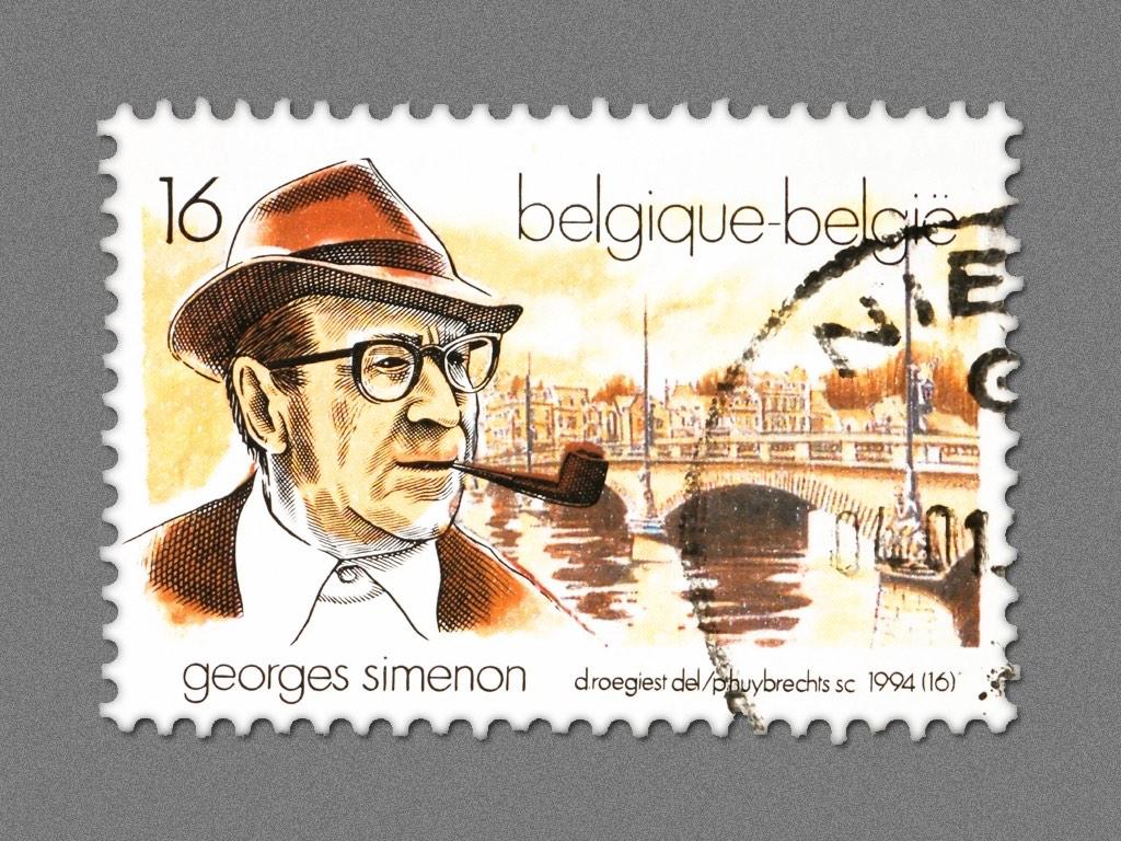 . Georges Simenon .