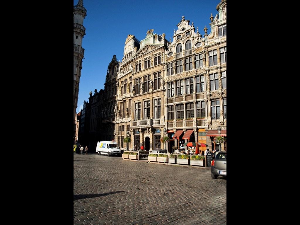 . Grand Place de Bruxelles .