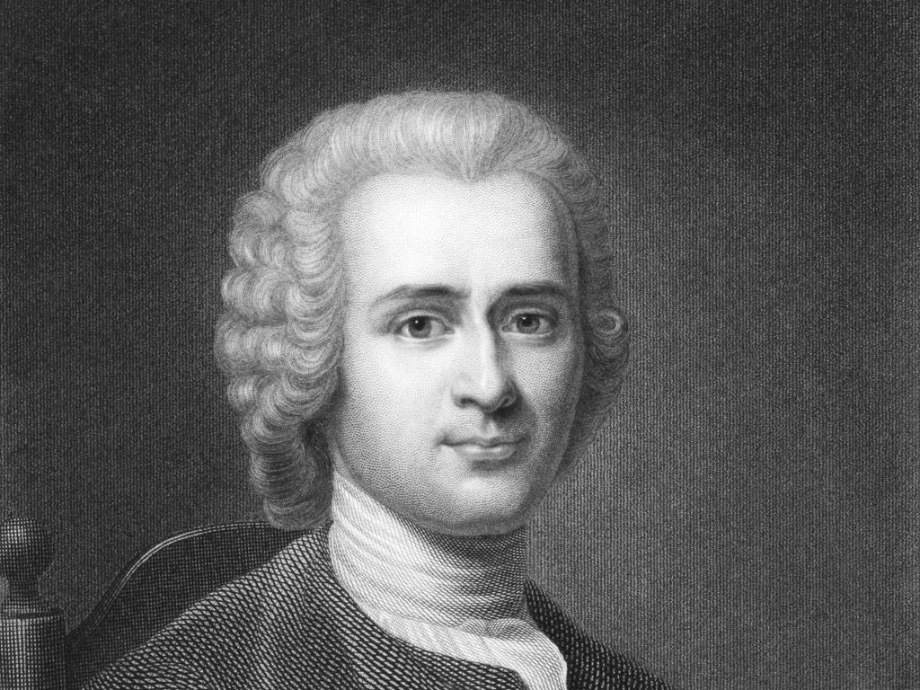 . Jean-Jacques Rousseau .