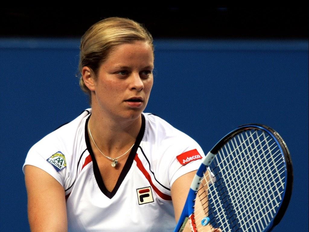 . Kim Clijsters .