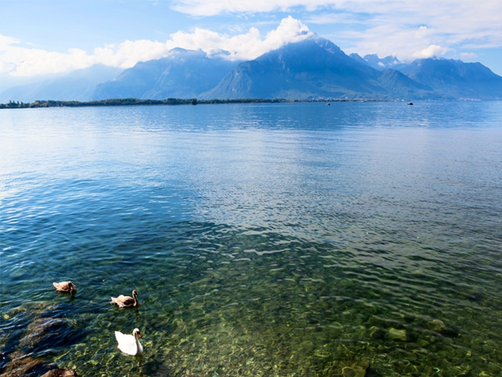 . Lac Léman .