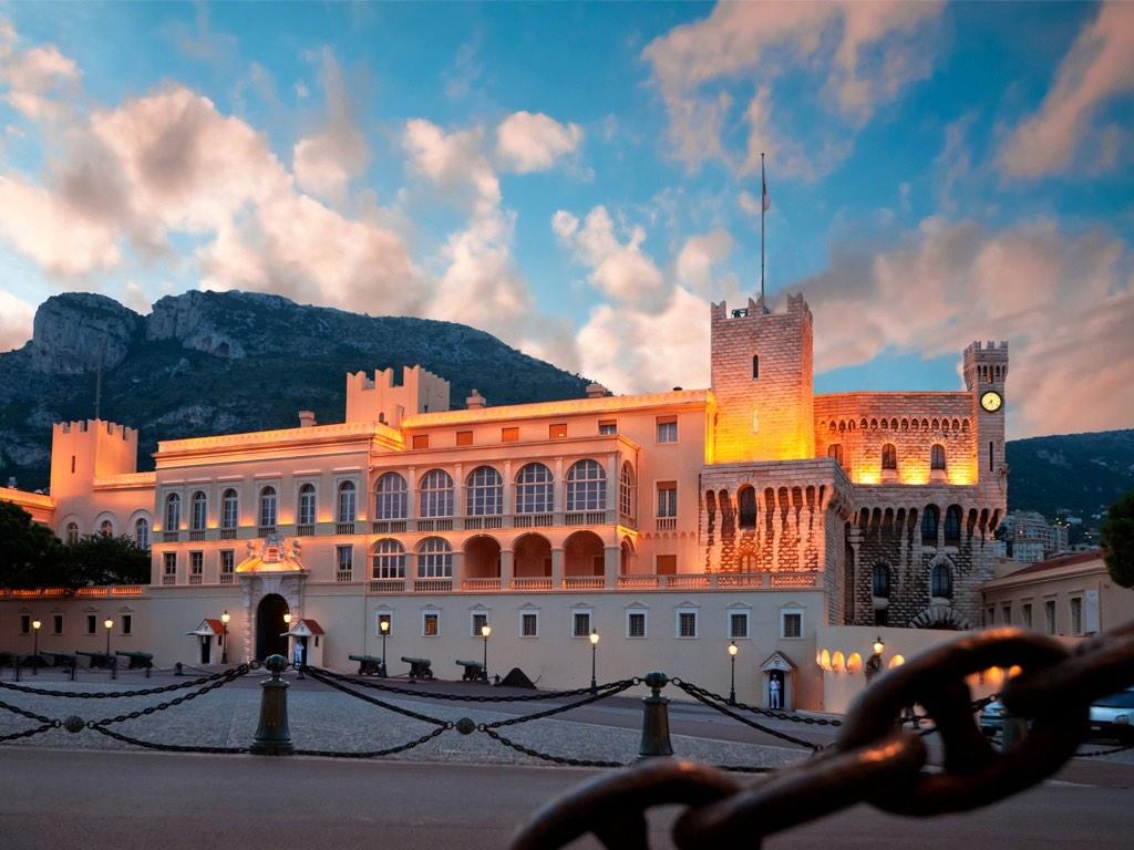 . Palais de Monaco .
