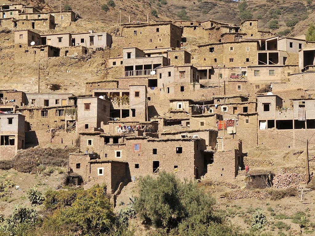 . Villages berbères .